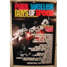 Weller Paul - AFFICHE MUSIQUE / CONCERT / POSTER