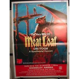 Meat Loaf - AFFICHE MUSIQUE / CONCERT / POSTER