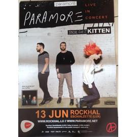 PARAMORE - Live 2013 - AFFICHE MUSIQUE / CONCERT / POSTER