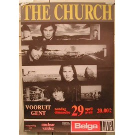Church The - AFFICHE MUSIQUE / CONCERT / POSTER