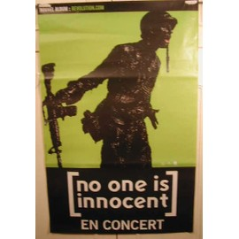 No One Is Innocent - AFFICHE MUSIQUE / CONCERT / POSTER