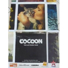 COCOON - 2009 - AFFICHE MUSIQUE / CONCERT / POSTER