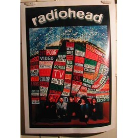 Radiohead - 2004 - AFFICHE MUSIQUE / CONCERT / POSTER