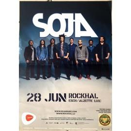 SOJA - AFFICHE MUSIQUE / CONCERT / POSTER