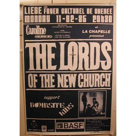 Lords Of The New Church - AFFICHE MUSIQUE / CONCERT / POSTER
