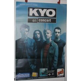 KYO - 2003 - AFFICHE MUSIQUE / CONCERT / POSTER