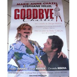 Goodbye Charlie - Marie-Anne CHAZEL - AFFICHE MUSIQUE / CONCERT / POSTER