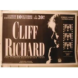 Richard Cliff - AFFICHE MUSIQUE / CONCERT / POSTER