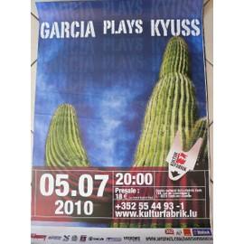 Garcia Plays Kyuss - AFFICHE MUSIQUE / CONCERT / POSTER