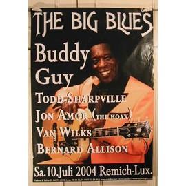 Big Blues The - AFFICHE MUSIQUE / CONCERT / POSTER
