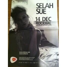 Selah Sue - 2011 - AFFICHE MUSIQUE / CONCERT / POSTER