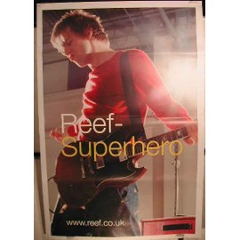 Reef Superhero - AFFICHE MUSIQUE / CONCERT / POSTER