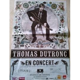 Thomas DUTRONC - AFFICHE MUSIQUE / CONCERT / POSTER