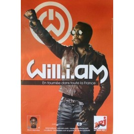 Will.i.am - Will I Am - AFFICHE MUSIQUE / CONCERT / POSTER