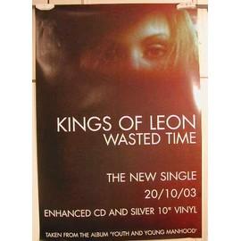 King Of Leon - AFFICHE MUSIQUE / CONCERT / POSTER