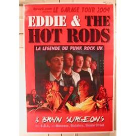 Eddie & the Hot Rods - AFFICHE MUSIQUE / CONCERT / POSTER