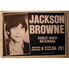 Browne Jackson - AFFICHE MUSIQUE / CONCERT / POSTER