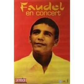 Faudel - AFFICHE MUSIQUE / CONCERT / POSTER