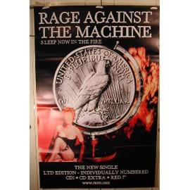 Rage Against The Machine - AFFICHE MUSIQUE / CONCERT / POSTER