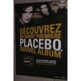 Placebo - AFFICHE MUSIQUE / CONCERT / POSTER