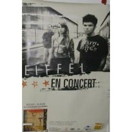 Eiffel - AFFICHE MUSIQUE / CONCERT / POSTER