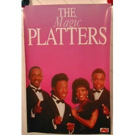 PLATTERS The - AFFICHE MUSIQUE / CONCERT / POSTER