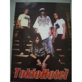 TOKIO HOTEL - AFFICHE MUSIQUE / CONCERT / POSTER