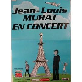 Murat Jean-Louis - AFFICHE MUSIQUE / CONCERT / POSTER