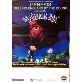 The Musical Box - Tribute GENESIS - AFFICHE MUSIQUE / CONCERT / POSTER