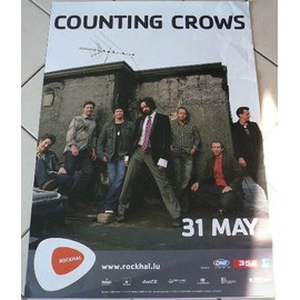 Counting Crows - In concert 2008 - AFFICHE MUSIQUE / CONCERT / POSTER