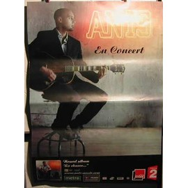 Anis - En concert - AFFICHE MUSIQUE / CONCERT / POSTER