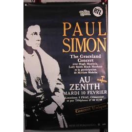 Simon Paul - AFFICHE MUSIQUE / CONCERT / POSTER
