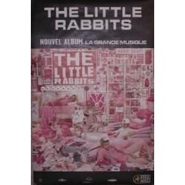 The Little rabbits - AFFICHE MUSIQUE / CONCERT / POSTER