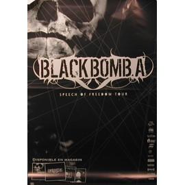 Black Bomb A - AFFICHE MUSIQUE / CONCERT / POSTER
