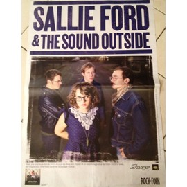 Sallie Ford & The Soundn Outside - AFFICHE MUSIQUE / CONCERT / POSTER