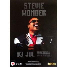 Stevie Wonder - AFFICHE MUSIQUE / CONCERT / POSTER
