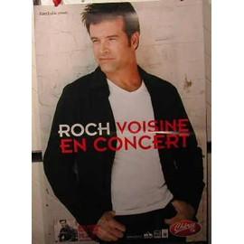 Roch VOISINE - AFFICHE MUSIQUE / CONCERT / POSTER