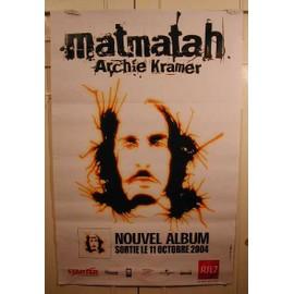 Matmatah - AFFICHE MUSIQUE / CONCERT / POSTER