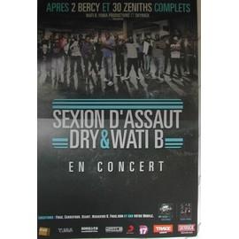 Sexion d'Assaut - AFFICHE MUSIQUE / CONCERT / POSTER