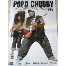 Popa Chubby - 2009 - AFFICHE MUSIQUE / CONCERT / POSTER