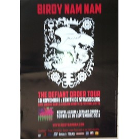 Birdy Nam Nam - AFFICHE MUSIQUE / CONCERT / POSTER