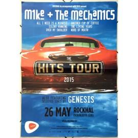 Mike & The Mecanics - Genesis - AFFICHE MUSIQUE / CONCERT / POSTER