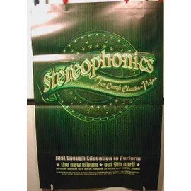 STEREOPHONICS - AFFICHE MUSIQUE / CONCERT / POSTER
