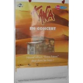 Kana - 2003 - AFFICHE MUSIQUE / CONCERT / POSTER
