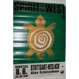 Spirit Of The West - AFFICHE MUSIQUE / CONCERT / POSTER