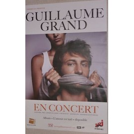 Guillaume Grand - AFFICHE MUSIQUE / CONCERT / POSTER
