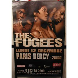 THE FUGEES - AFFICHE MUSIQUE / CONCERT / POSTER