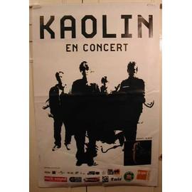 Kaolin - AFFICHE MUSIQUE / CONCERT / POSTER