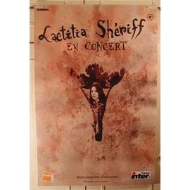 Sheriff Laetitia - AFFICHE MUSIQUE / CONCERT / POSTER