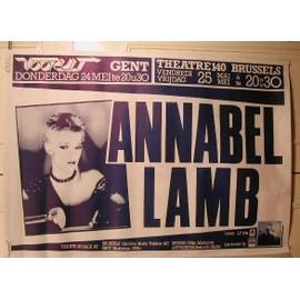 Lamb Annabel - AFFICHE MUSIQUE / CONCERT / POSTER